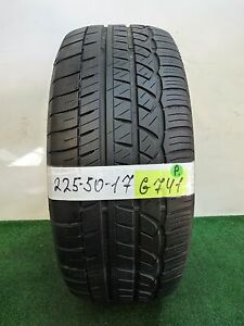 Cooper Zeon Rs3 a 225 50 17 98w Used Tire 66 6 6 32nds G741