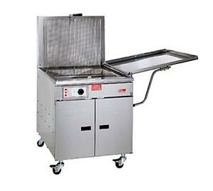 Pitco Solstice Fryer With Solofilter Gas 1 sf sg18 s