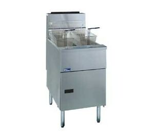 Pitco Solstice Fryer With Solofilter Gas 1 sf sg18d s