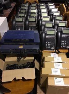 Nec Sv8100 sv8300 Phone System With 28 Phones Console Switches make An Offer