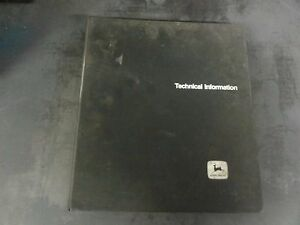 John Deere 2240 Tractor Technical Manual Tm 3401