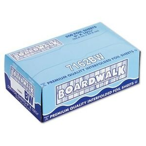 Boardwalk Pop up Aluminum Foil Wrap Sheets 9 X 10 3 4 Silver