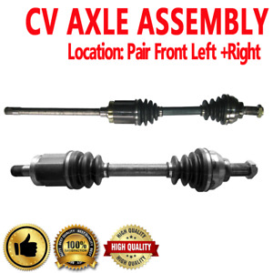 Front Driver Passenger Cv Axle Shaft For Bmw 325xi 2001 2005 330xi 2001 2005