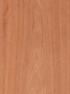 Mahogany Veneer Plain Sliced Wood On Wood Backer Backing 4 X 10 48 X 120