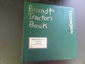 Timberjack 1270 Series Service Manual S n up To 12701202