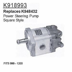 K918993 David Brown Tractor Parts Power Steering Pump 990 1200