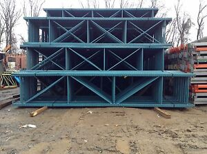 Steel King Pallet Rack 36 X 16 Teardrop Warehouse Racking Upright Shelving