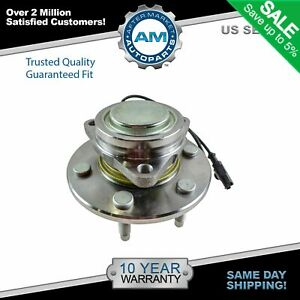 Front Wheel Hub Bearing 6 Lug Left Or Right For Chevy Gmc Cadillac 2wd 2x4