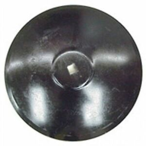 Disc Blade 22 Smooth Edge 7 Gauge 1 1 8 Square Axle Raised Flat Center