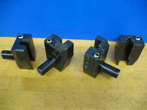 4 Vdi 20 Shank 5 8 Tool Holders Index w62350 3700 Cnc Turning vgc