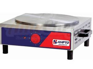 New Commercial Professional Crepe Maker Single Etl Listed Mpe Ampto