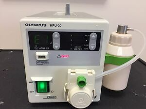 Olympus Hpu 20 Heat Probe Unit With Suction Bottle