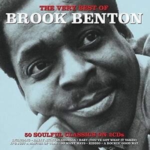 Brook Benton Very Best of New CD UK Import $10.27