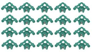 20 Plastic Green Roof Ice Guard Snow Guard Stops For Standing Seam Metal Roofing