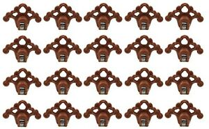 20 Plastic Bronze Roof Ice Guard Snow Guard Stops Standing Seam Metal Roofing