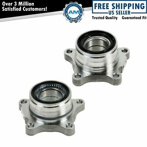 Rear Wheel Bearing Module Pair Left Right For 07 12 Toyota Tundra Pickup