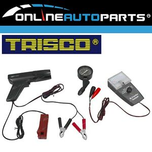 3pc Engine Tune Up Tool Kit Timing Light Compression Tester 6 Function Analyser