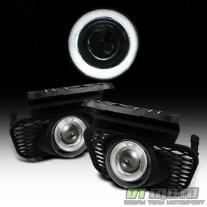 2003 2006 Chevy Silverado Avalanche Led Halo Projector Bumper Fog Lights Switch
