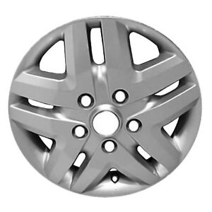 02533 Reconditioned Aluminum Wheel 16in Silver 5 Double Spoke