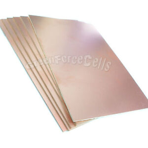 20 Pcs Copper Clad Laminate Circuit Boards Fr2 Pcb Single Side 165mm X 200mm