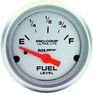 Autometer Fuel Gauge Gas New 4319