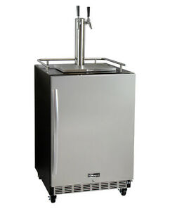 Kegco Hk38bsc 2 2 tap Commercial Built in Kegerator W X clusive Dispense Kit