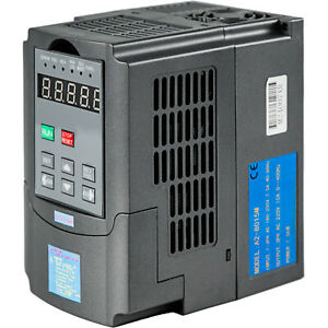 1 5kw 220v Variable Frequency Drive Inverter Vfd 2hp 7a Vsd Spwn Control 3 Phase