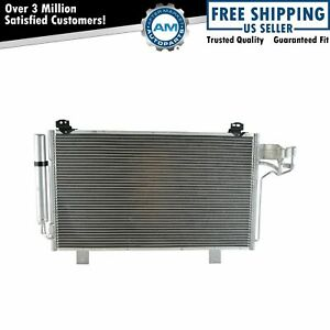 Ac Condenser A C Air Conditioning Direct Fit For Mazda 3 6 Brand New