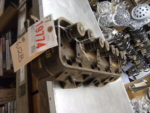 1961 64 Ford Truck Cylinder Head Cast c1te d W o Sodium Valves 8 292
