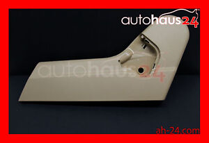 Mercedes benz W220 S class S500 S430 00 02 Driver Seat Left Side Trim Cover Java
