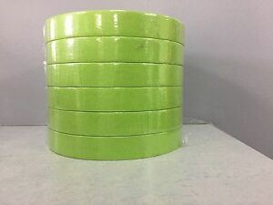3m 26334 3 4 Green Scotch Masking Tape 233 18mm 6 Rolls Half Sleeve