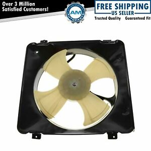 Ac A c Condenser Cooling Fan Assembly For 99 00 Honda Civic