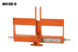 Category 1 3 Point Hitch Receiver With Offset Suitcase Weight Bracket