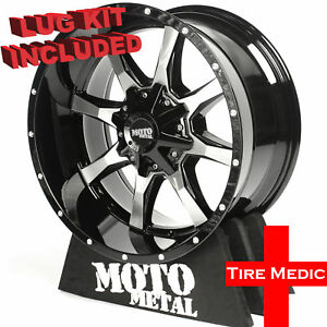 4 New Moto Metal Mo970 Rims Wheels 17x8 0 8x165 1 8x6 5