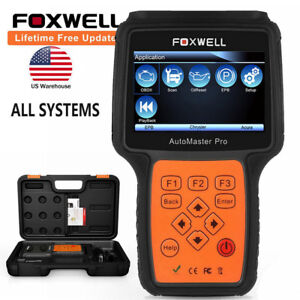 Foxwell Full Systems Obdii Abs Srs Transmission Epb Oil Diagnostic Scanner Tool