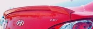 Pre Painted For 2010 2016 Hyundai Genesis Coupe Flush Mount Abs Rear Spoiler New