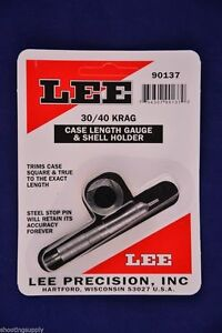 Lee Case Length Gauge & Shell Holder 3040 Krag #90137