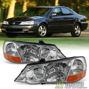 2002 2003 Acura Tl Hid Xenon Headlights Replacement 02 03 Headlamps Left Right