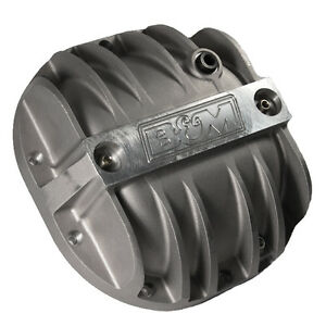 B m 40297 Ford 8 8 Mustang truck Cast Aluminum Differential Cover Xtra capacity