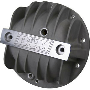 B M 70502 Finned Aluminum Differential Cover Chevy 8 2 8 5 8 6 10 Bolt