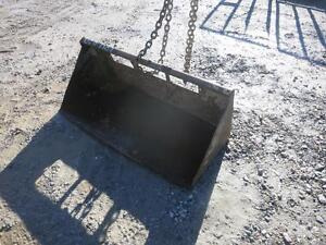 41 Gp Bucket For Walk Behind Skid Steer Loader Quick Attach Fits Many Models