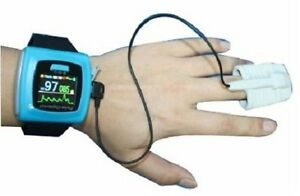 Cms50fw Wrist Pulse Oximeter With Bluetooth Spo2 Monitor Oled Usb sw alarm