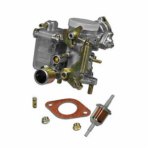 Vw 34 Pict 3 Carburetor With Hardware Barrel Screw Type 1 And 2 Volkswagen
