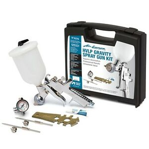 Anest Iwata Air Gunsa Hvlp Gravity Spray Gun Kit 9276