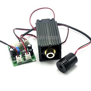 650nm 100mw Red And 532nm 30mw Green 12v Focusable Laser Dot Diode Module W Ttl