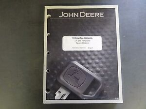 John Deere Lp And Kerosene Space Heaters Technical Manual Tm1392
