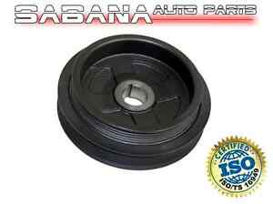 New Crankshaft Pulley Harmonic Balancer For Nissan Sentra 2000 2006 1 8l Engine