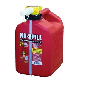 Gasoline Gas Fuel Can Container Red Tank Mower