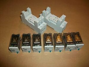 7pc Siemens Ice Cube Relay 3tx7114 5lc03 24vdc Coil New
