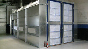 Automotive Paint Spray Booth cross Draft 14 Wide X 12 Tall X 27 Long